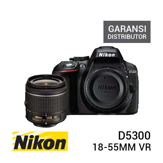 jual kamera Nikon D5300 Kit NIKKOR 18-55mm VR harga murah surabaya jakarta