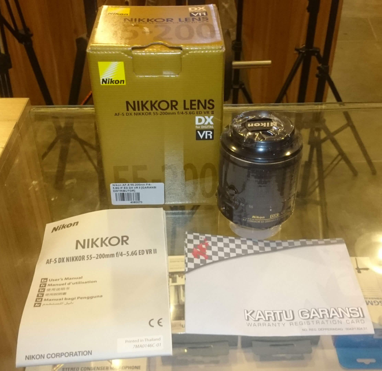 Jual Nikon AF-S DX NIKKOR 55-200mm f/4-5.6G ED VR II