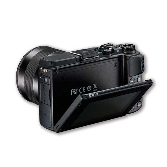 Jual Canon EOS M3 Kit EF-M15-45mm Hitam Harga Murah Toko Kamera Online Surabaya & Jakarta.