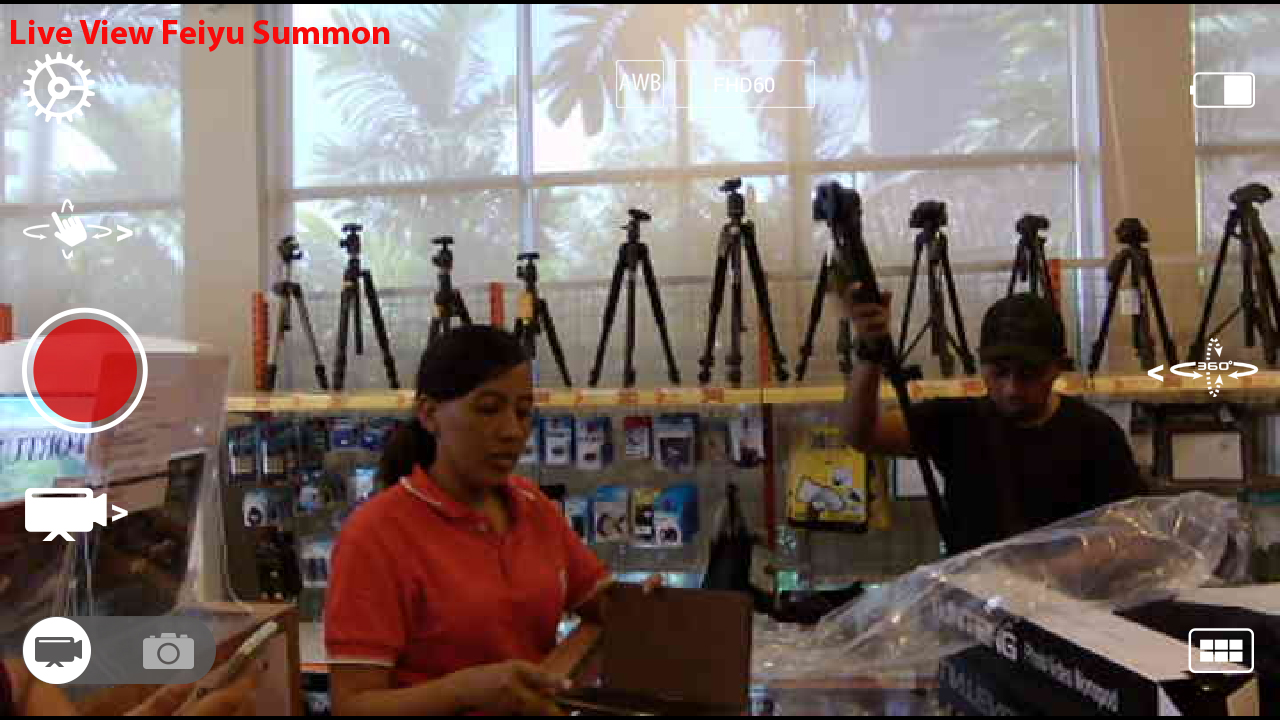 Live View Summon