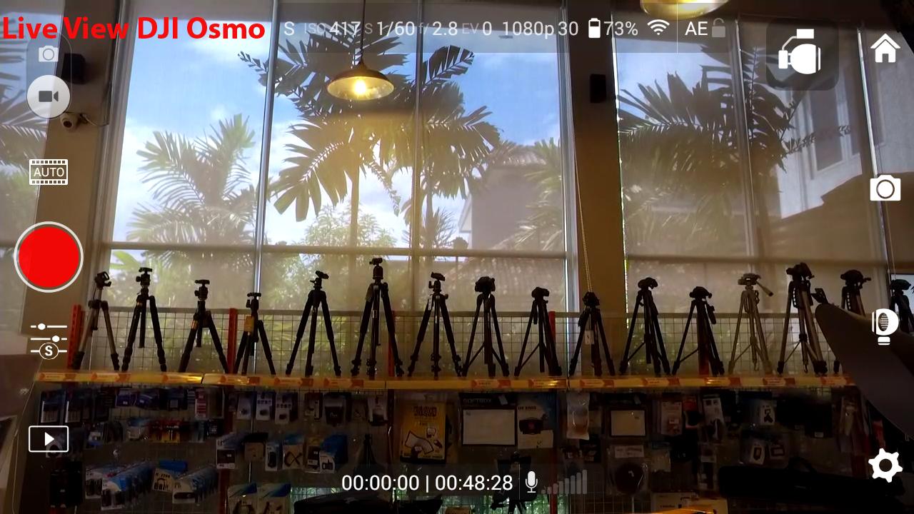 Live view DJI Osmo