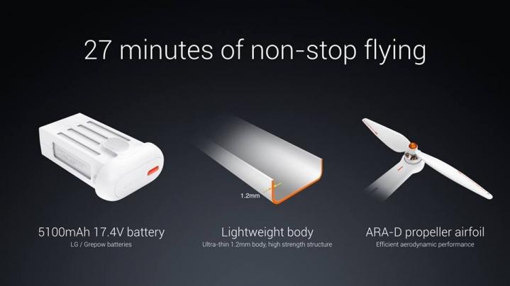 Spesifikasi Xiaomi Mi Drone 4