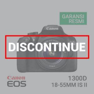 jual Canon EOS 1300D Kit EF S18-55 IS II harga murah surabaya jakarta