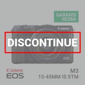 jual kamera Canon EOS M3 Kit EF-M15-45mm Hitam harga murah surabaya jakarta