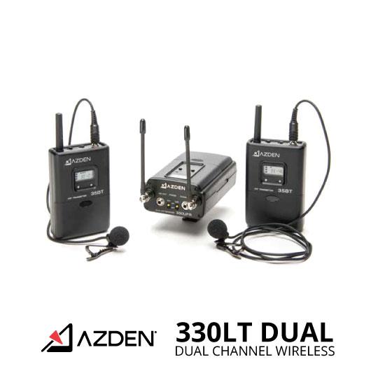 jual Azden 330LT Dual-Channel Wireless System