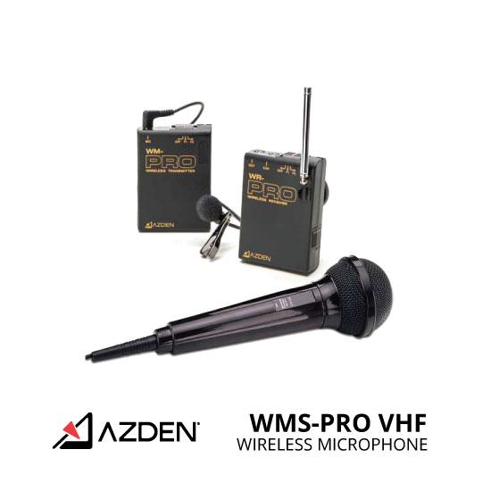jual Azden WMS-PRO VHF Wireless Microphone System