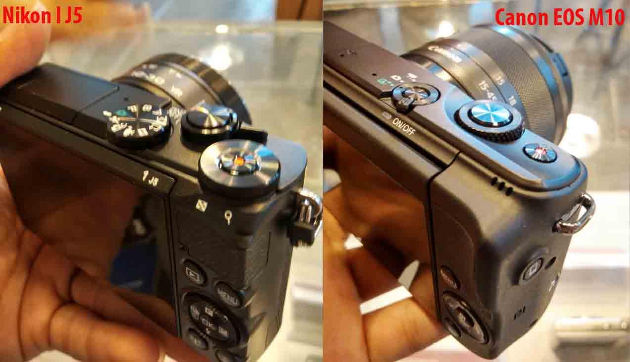 Perbandingan Kamera Vlog Antara Canon M10 Atau Nikon 1 J5 Tutup Body Lensa Camera Dslr