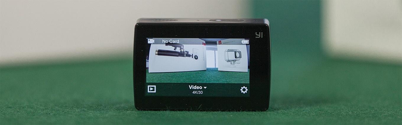 Display Xiaomi Yi Cam 4k
