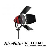 jual NiceFoto Red Head Halogen With Cooler