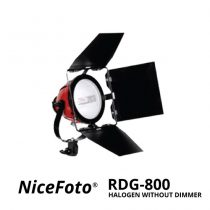 jual NiceFoto Red Head Halogen Without Dimmer