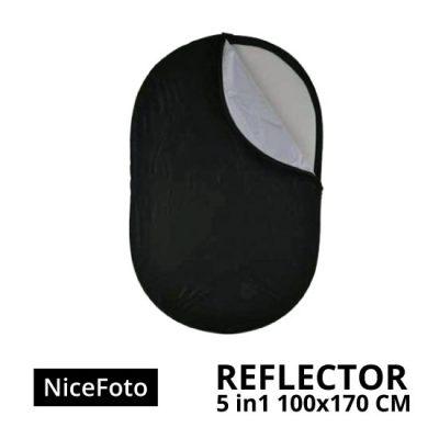 jual NiceFoto Reflector 5in1 100 x 170cm