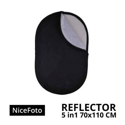 jual NiceFoto Reflector 5in1 70 x 110cm