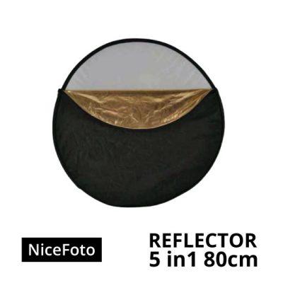 jual NiceFoto Reflector 5in1 80cm