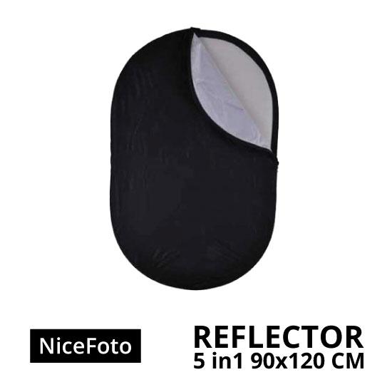jual NiceFoto Reflector 5in1 90 x 120cm