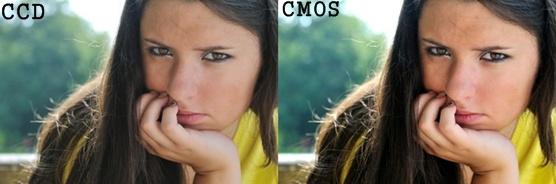 Sensor CMOS VS CCD