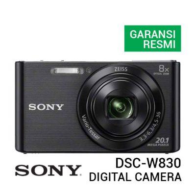 jual kamera Sony DSC W830 Digital Camera Hitam harga murah surabaya jakarta