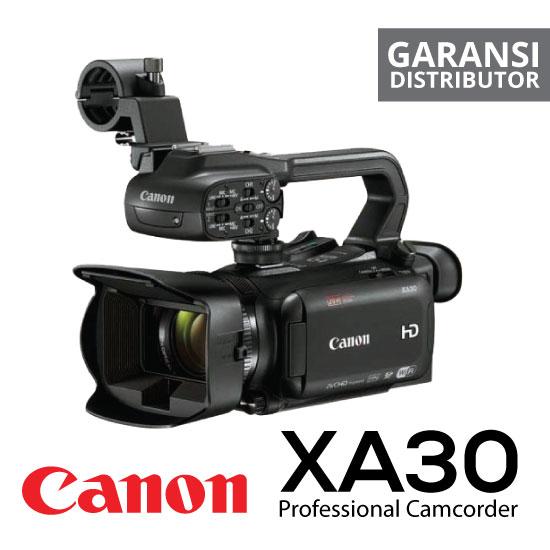 Jual Digital Kamera Recorder Canon XA30 Professional Camcorder