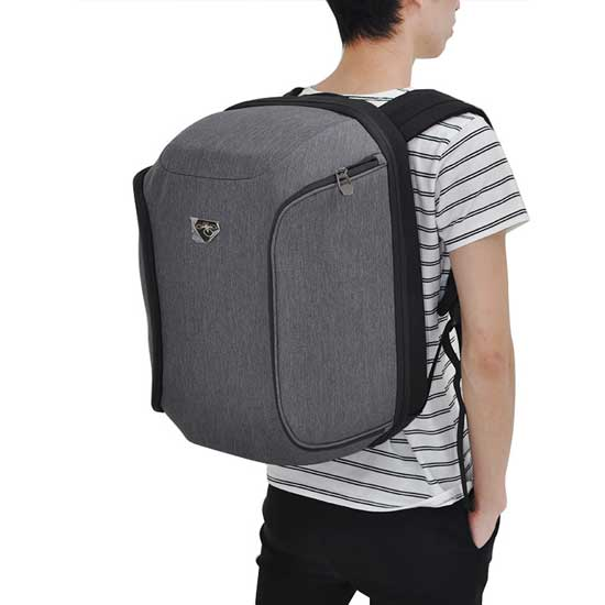 Jual DJI Phantom Soft Shell Backpack SILVER 3rd Party