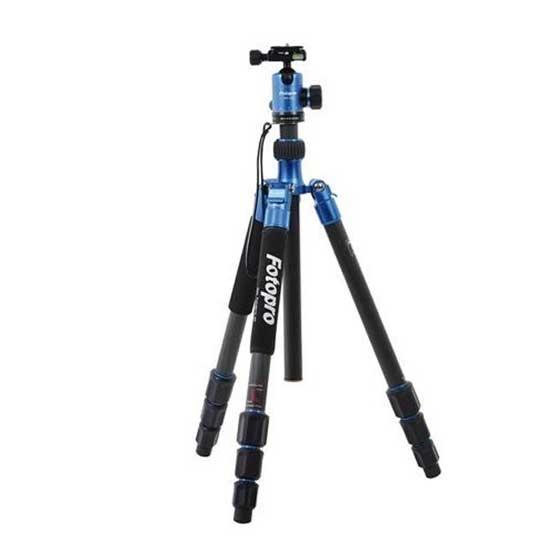 Jual Fotopro Tripod C50i + FPH-52Q Blue