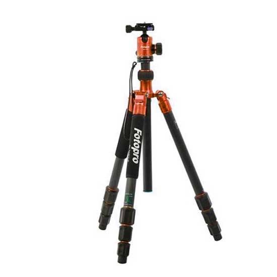 Jual Fotopro Tripod C50i + FPH-52Q Orange