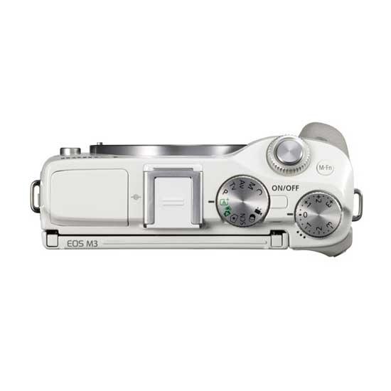 Jual Canon EOS M3 Kit EF-M15-45mm Putih Toko Kamera Online Surabaya & Jakarta