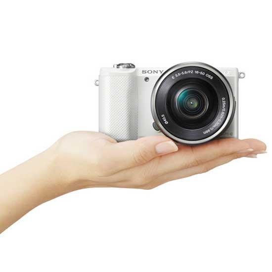 Jual Sony A5000 Kit 16-50mm Putih Surabaya & Jakarta