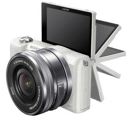 Jual Kamera Mirrorless Sony A5000 Kit 16-50mm Putih f/3.5-5.6 OSS Murah. Cek Harga Kamera Mirrorless Sony A5000 Kit 16-50mm Putih f/3.5-5.6 OSS disini, Toko Kamera Online Surabaya Jakarta - Plazakamera.com