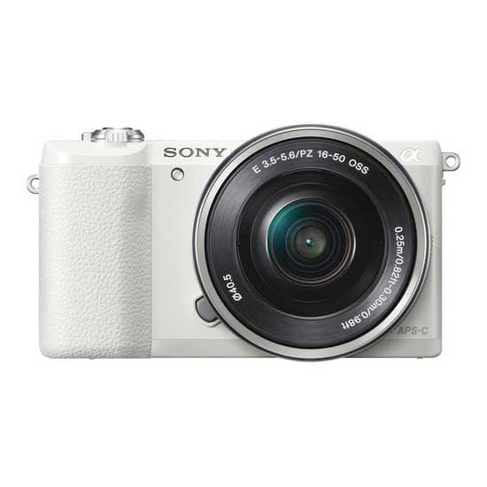 Jual Sony A5100 Kit 16-50mm Putih f/3.5-5.6 OSS Surabaya & Jakarta