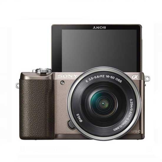 Jual Sony A5100 Kit 16-50mm Coklat f/3.5-5.6 OSS Surabaya & Jakarta