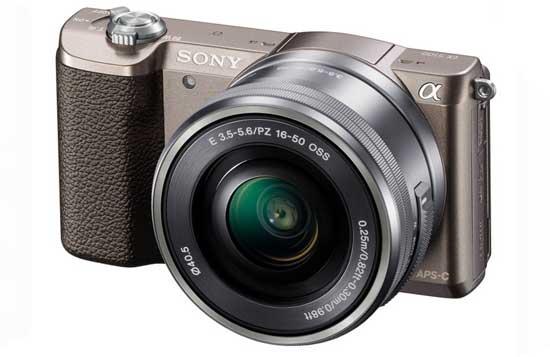 Jual Kamera Mirrorless Sony A5100 Kit 16-50mm Coklat f/3.5-5.6 OSS Murah. Cek Harga Kamera Mirrorless Sony A5100 Kit 16-50mm Coklat f/3.5-5.6 OSS disini, Toko Kamera Online Surabaya Jakarta - Plazakamera.com