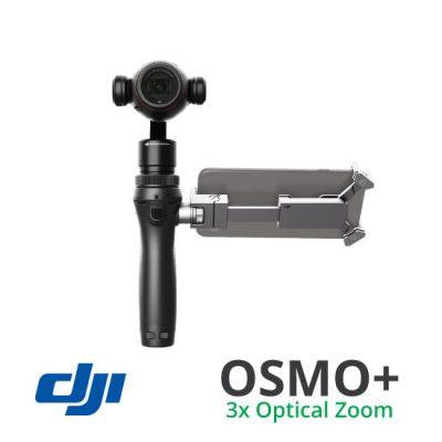 OSMO+ 3x Optical Zoom
