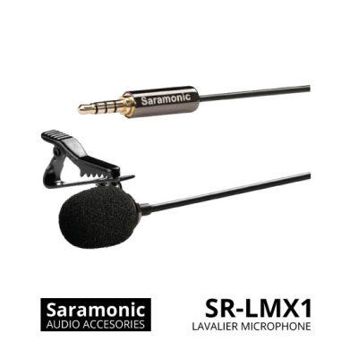 jual Saramonic SR-LMX1 Lavalier Microphone for Smartphone