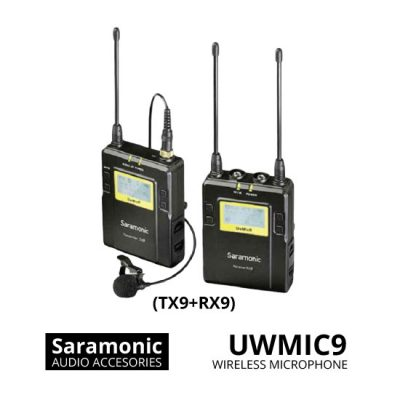 jual Saramonic UwMic9 (TX9+RX9) Wireless Microphone