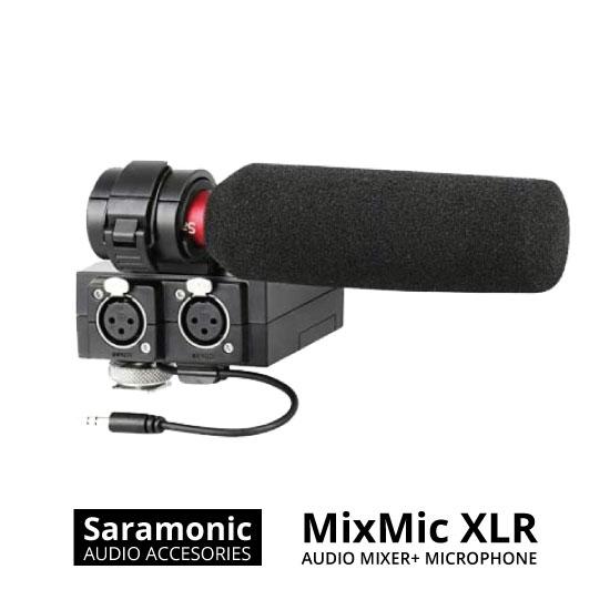 jual Saramonic MixMic XLR Audio Mixer with Microphone