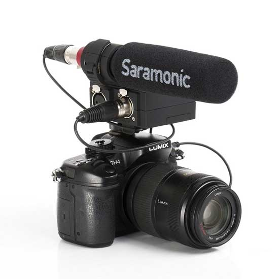 Jual Saramonic MixMic XLR Audio Mixer with Microphone