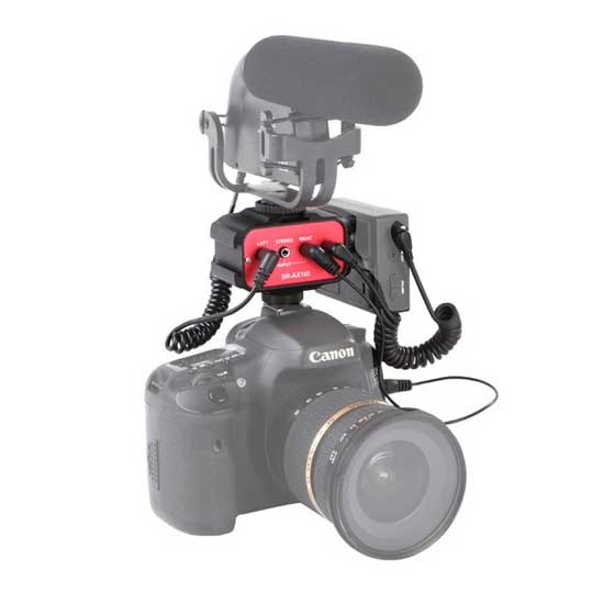 Jual Saramonic SR-AX100 for DSLR Cameras & Camcorders