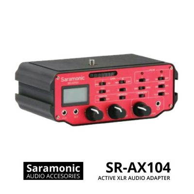 jual Saramonic SR-AX104 Active XLR Audio Adapter for DSLR