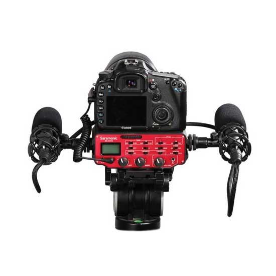 Jual Saramonic SR-AX104 Active XLR Audio Adapter for DSLR