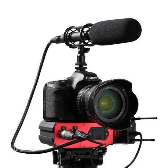 Jual Saramonic SR-AX107 Active XLR Audio Adapter for DSLR