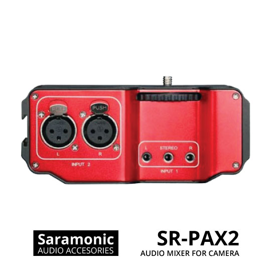 jual Saramonic SR-PAX2 Audio Mixer for DSLR, CSC & Blackmagic