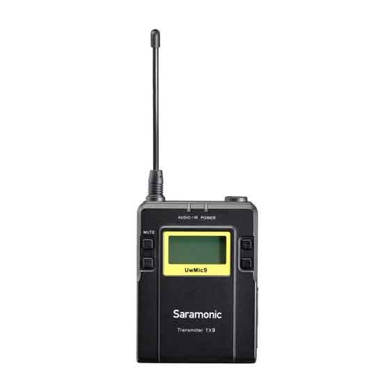 Jual Saramonic UwMic9 (TX9 +TX9 +RX9) Wireless Microphone