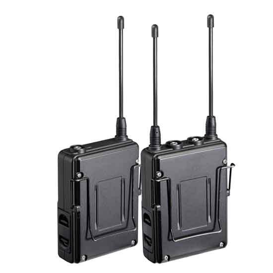 Jual Saramonic UwMic9 (TX9 +TX9 +RX9) Wireless Microphone
