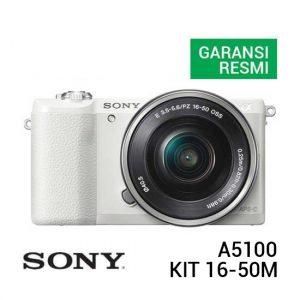 Sony A5100 Kit 16-50mm Putih