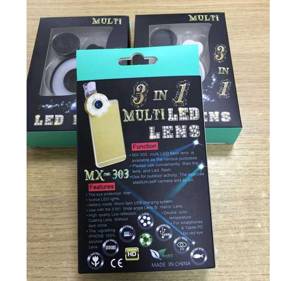 Jual Wide Lens With LED