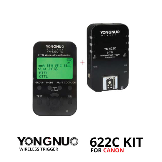 jual YongNuo 622C Kit Wireless Trigger For Canon