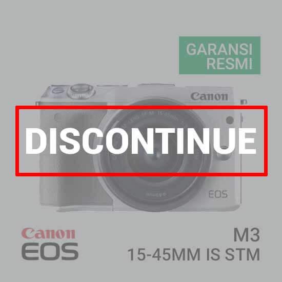 jual kamera Canon EOS M3 Kit EF-M15-45mm Putih harga murah surabaya jakarta
