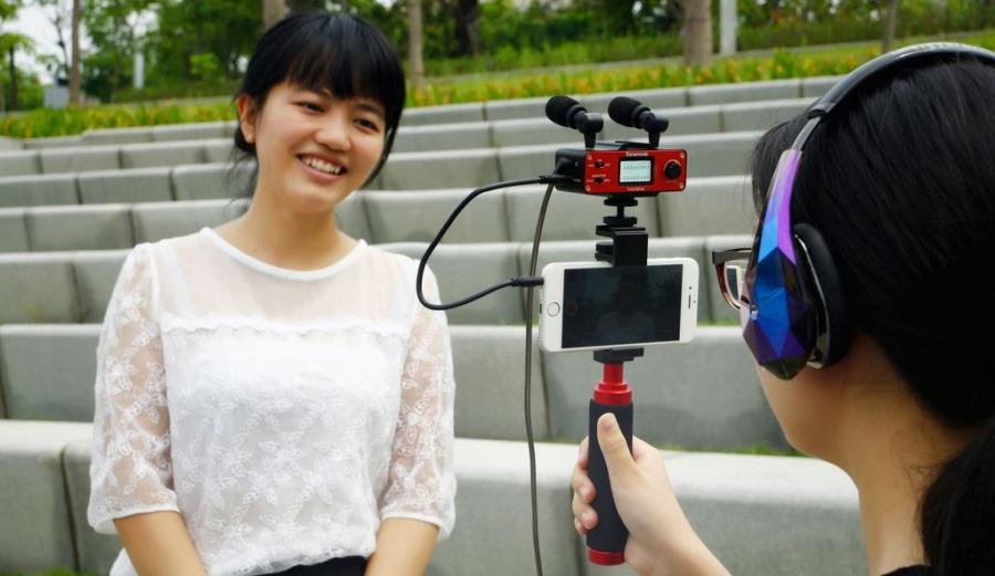 Jual Saramonic SmartMixer for Smartphone Surabaya Jakarta