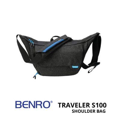 jual Benro Traveler S100 Shoulder Bag Hitam