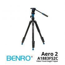 jual Benro A1883FS2C Aero 2 Video Travel Angel Tripod
