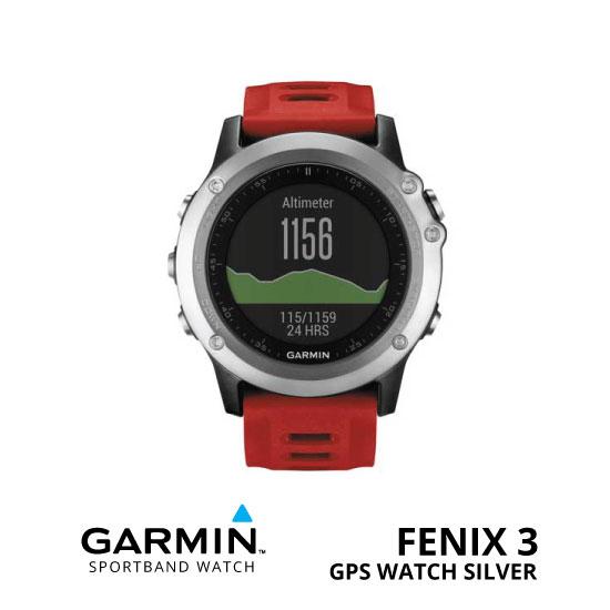 jual Garmin Fenix 3 GPS Watch Silver